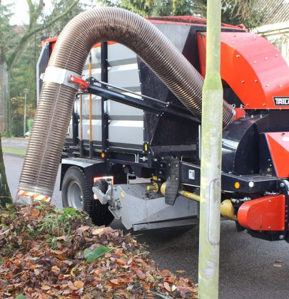 Leaf vacuum trailer: the best way to remove leaves