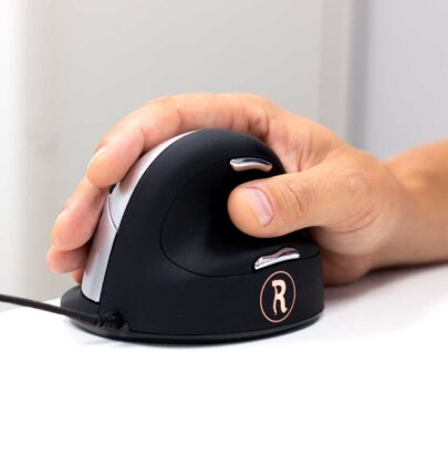 An ergonomic mouse